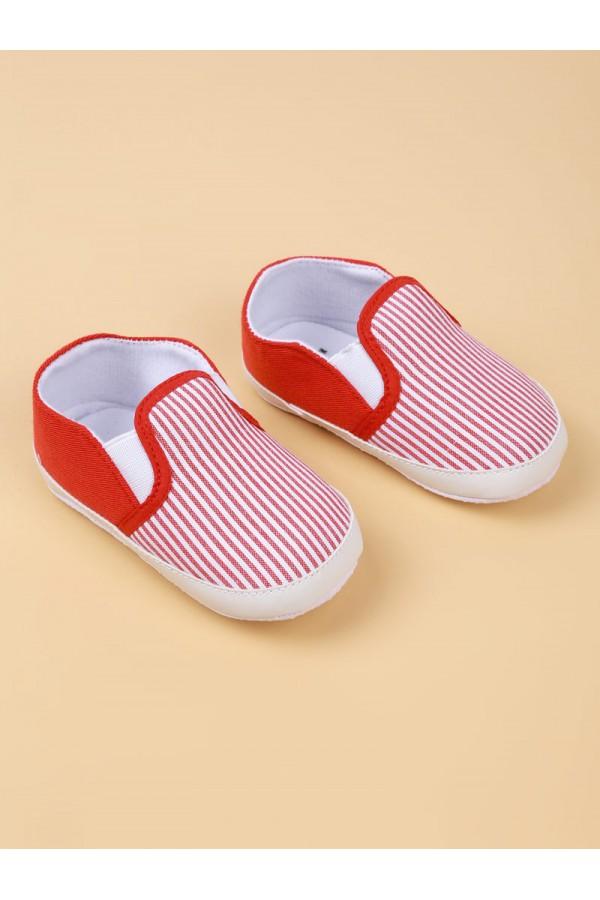حذاء مخطط سهل الارتداء