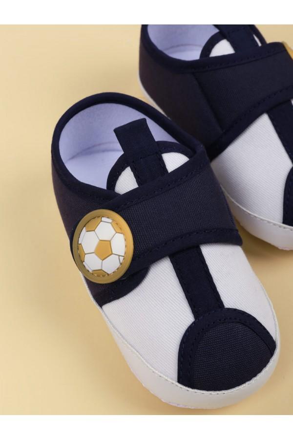 حذاء مواليد بشريط إغلاق