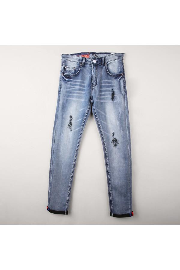 بنطلون جينز طويل