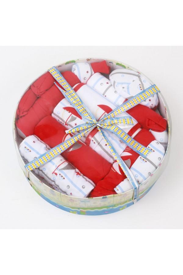 بوكس هدايا دائري - 12 قطعة