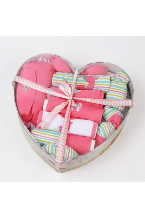 بوكس هدايا لحديثي الولادة - 12 قطعة