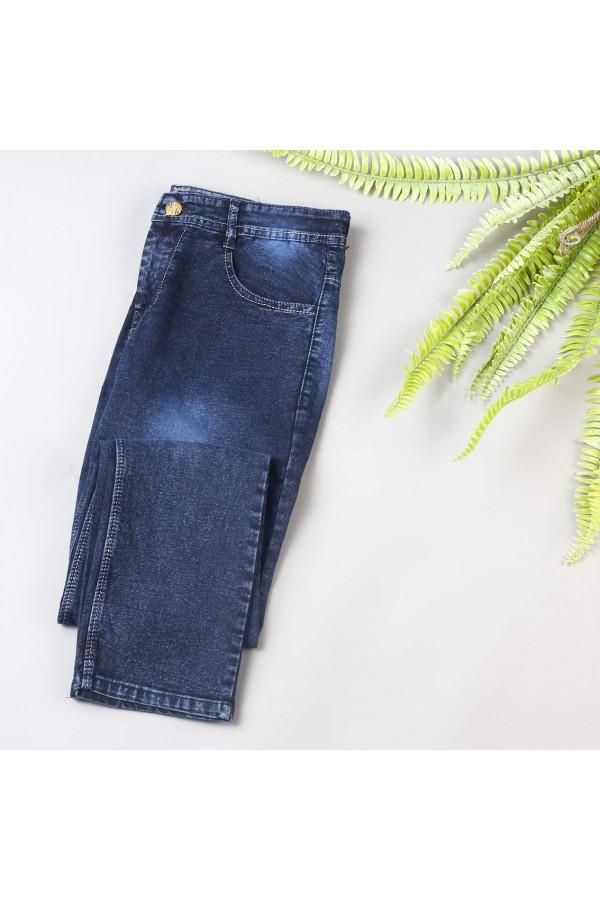 بنطلون جينز ساده طويل